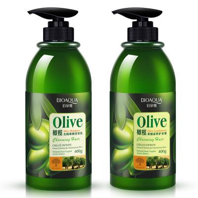 BioAqua Olive Essence шампунь и кондици