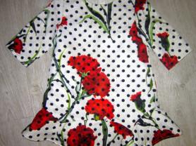 Платье в стиле DOLCE GABBANA MONSOON р.6 (116)
