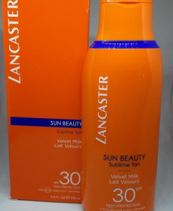 Lancaster sun beauty spf 30 шелковистое молочко солнцезащитн