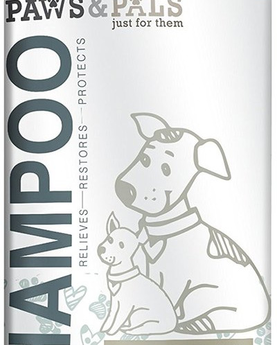 Paws & Pals Natural Dog-Shampoo And Conditioner - 20oz