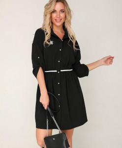 Платье 218 черный