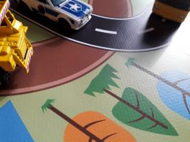 Дорожная карта - детский развивающий коврик
