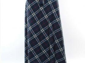 Новая шелковая юбка, макси