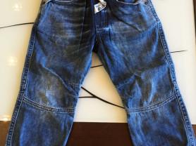 Джинсовые штаны John Galliano р.24