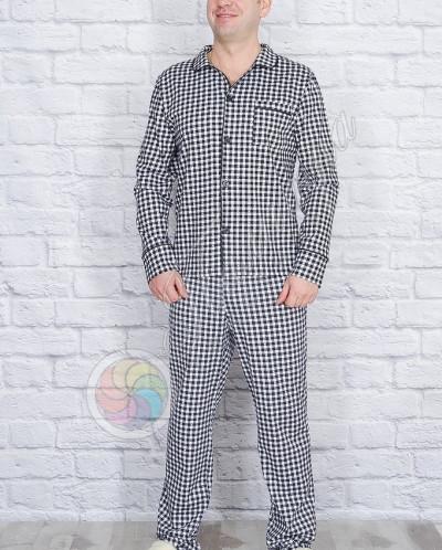 Пижама мужская, на пуговицах