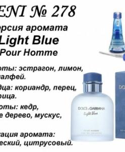 278 аромат направления Light Blue Pour Homme (100 мл) (Dolce