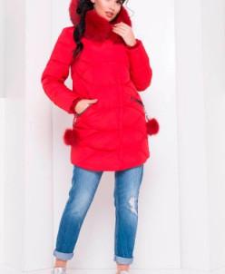 Пуховик Ингрид 3267 (красный) Modus