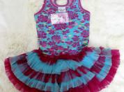 """Шикарное платье """" Фламинго"""" Ooh La La Couture р.3г"""