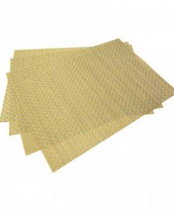 0648 FISSMAN Комплект из 4 сервировочных ковриков на обеденн