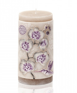 свеча Орхидея ЭКО Колонна 70*90