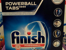 Таблетки для ПММ Finish Professional powerball tab