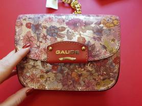 Новая кожаная стильная сумочка кроссбоди Италия