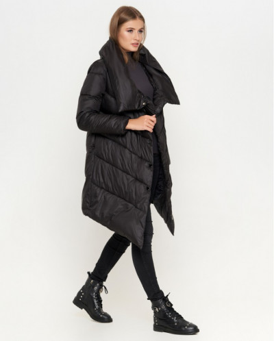 Куртка женская черная фирменная модель 816