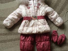 Зимний комплект для малышки тм G n K