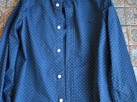Рубашка H&M (рост 134-140 см)
