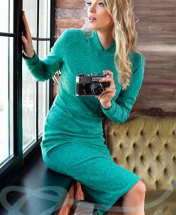 Ангоровое платье футляр
