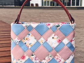 Новая кожаная сумка Gaude Италия оригинал