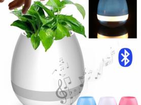 умный музыкальный горшок для цветов