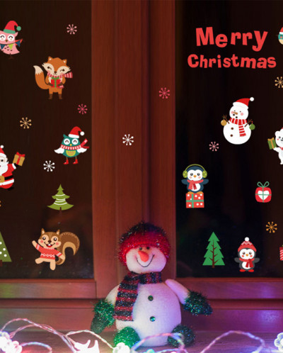 Интерьерная многоразовая наклейка «Merry Christmas»
