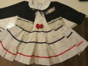 Красивая одежда для девочки. Б.у. 6-24мес.