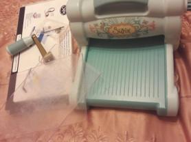 Биг шот машинка +набор ножей и папки для тиснения