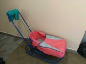 Санки-коляска+сиденье+чехол+муфта