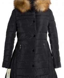 05-0718 Куртка зимняя (Синтепух 250) Плащевка Черный
