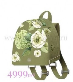 Fashion-рюкзачок Белый лютик 207