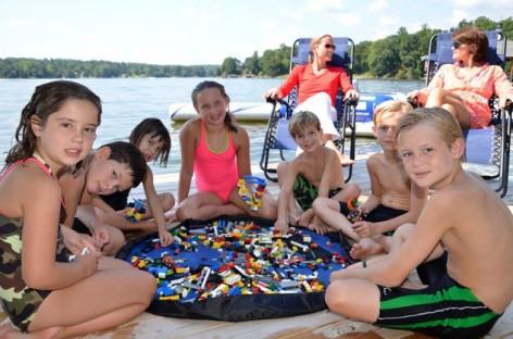 Сумка-коврик Лего-сумка 100 см