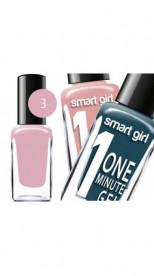 "БД Лак для ногтей ""Smart Girl"" One minute №003, 14584"""