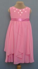 Платье для девочки Модель15/4 ЦветРозовый