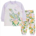 """Сиреневая пижама для девочки """"Уточка"""""""