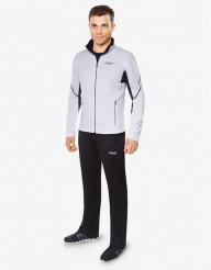 Бело-черный спортивный костюм F50 дизайнерский модель 237