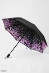 Зонт с цветочным рисунком
