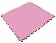 Мягкий пол универсальный 1000*1000*14 мм, розовый