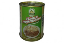 Консервы мясорастительные «Каша перловая с говядиной» 340г