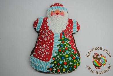 504-0 Дед Мороз большой 15х20 см