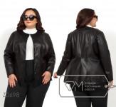 Модель №Z0698 куртка, черный