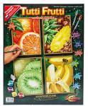 Раскраска по номерам Тропические фрукты 4 шт. Shipper