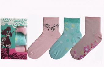 Набор женских носков (3 пары)