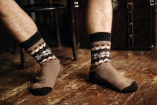 Носки шерстяные N6R66-1