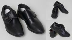 """Обувь детская 56007770-01 Туфли """"На липучке"""" Черные"""