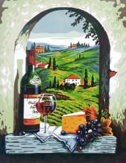Вид на Тоскану