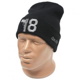 Молодежная шапка 18