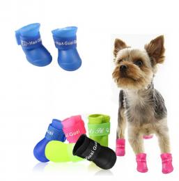 Резиновые ботиночки для собак.