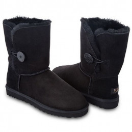 Ugg Australia W BAILEY BUTTON Black Арт: ua-button-001