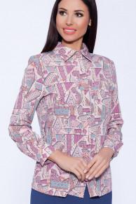 54388 Рубашка (ТРиКа)Розовый/фуксия