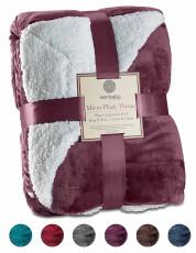 Sherpa Throw Blanket Ultra Soft Super  127x152