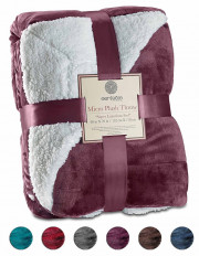 Sherpa Throw Blanket Ultra Soft Super  127x152