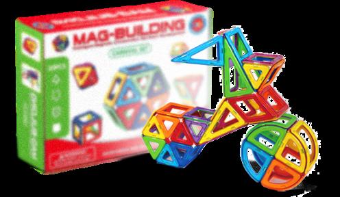 """Магнитный конструктор """"MAG-BULDING"""" 20pcs"""